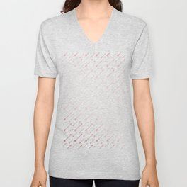 Simply Arrows in Rose Gold Sunset Unisex V-Neck