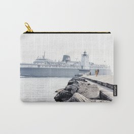 Badger Car Ferry - Ludington Michigan Carry-All Pouch
