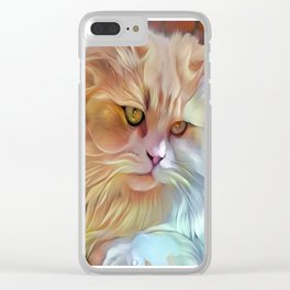 Pretty Kitty Clear iPhone Case