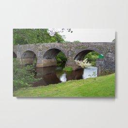 Banada Bridge - Ireland Metal Print