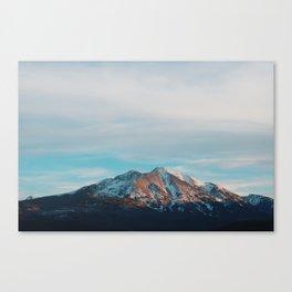 Mount Sopris Sunset 3/19/17 Canvas Print