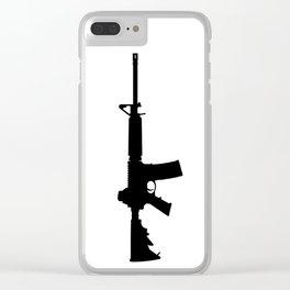 AR-15 Clear iPhone Case