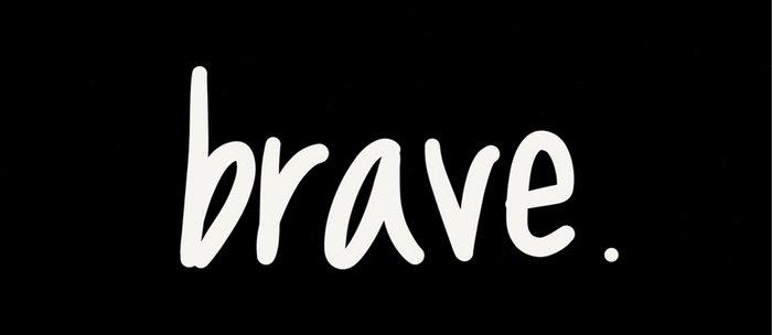 brave. Coffee Mug