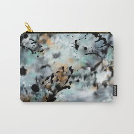 Abstract Ink Splats Carry-All Pouch