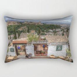El Balcon de San Nicola Rectangular Pillow