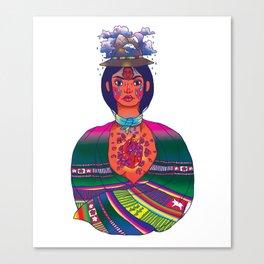 La Cholita: Para Siempre by Soledad Canvas Print