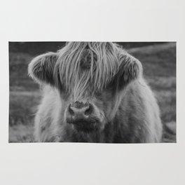 Highland cow III Rug