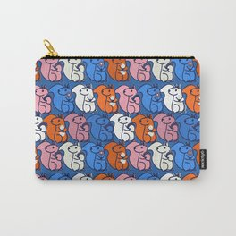 squirrels- pattern Carry-All Pouch