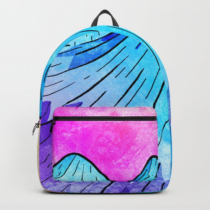 Th Summer Peaks at Morning Backpack
