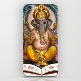 Lord Ganesha Hindu Oriental Art Spiritual Buddhism Yoga iPhone Skin