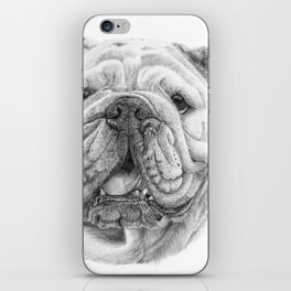English bulldog iPhone Skin