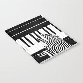 B&W Pianist Notebook