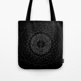Pendulum Reading Cloth by WildOne Tote Bag