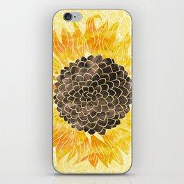Sunflower Yellow iPhone Skin