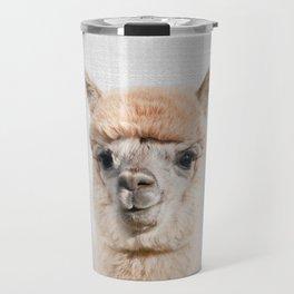 Alpaca - Colorful Travel Mug