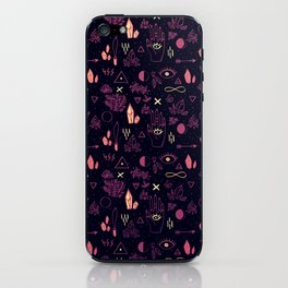 Witchcraft Pattern - Sunset iPhone Skin