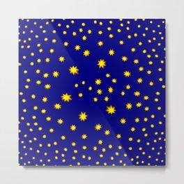 .. here comes the stars! ... Metal Print