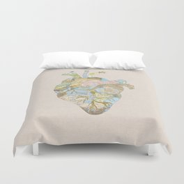 A Traveler's Heart (N.T) Duvet Cover