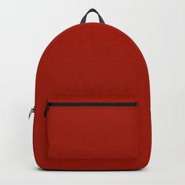 Vintage New England Shaker Village Dark Salem Red Milk Paint Backpack