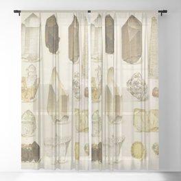 Quartz Crystals Sheer Curtain