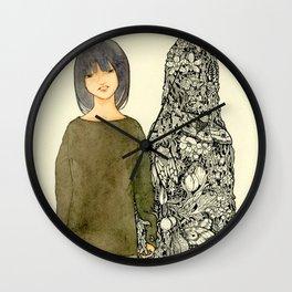 Ghosts II Wall Clock
