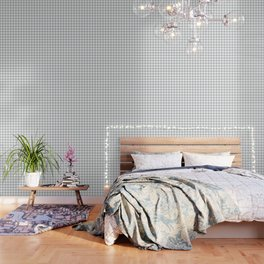 Light Grey Diamond Pattern Wallpaper