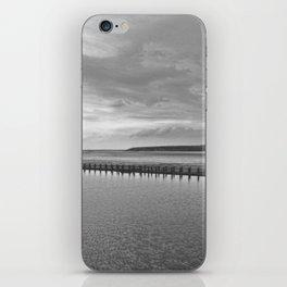 Weston-super-Mare black and white iPhone Skin