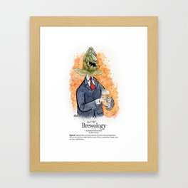 Hophead Framed Art Print