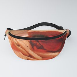 Burger with Fries Fanny Pack