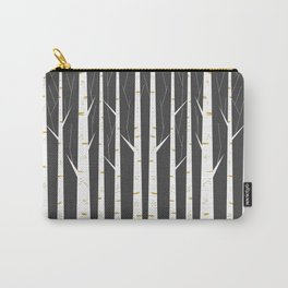 Birch forest Carry-All Pouch