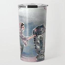 The Princess and the Droid Travel Mug
