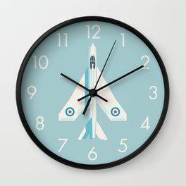 English Electric Lightning RAF Jet Fighter - Sky Wall Clock