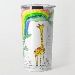 A Happy Talent Travel Mug