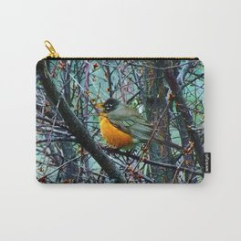 Red Robin - Round Robin - Jeronimo Rubio Photography 2016 (All Over) Carry-All Pouch