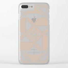 Dar Forma - Tan Clear iPhone Case