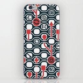 Geek spirit iPhone Skin
