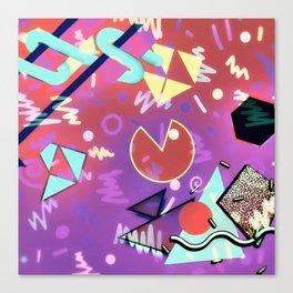 80s Vibes Canvas Print