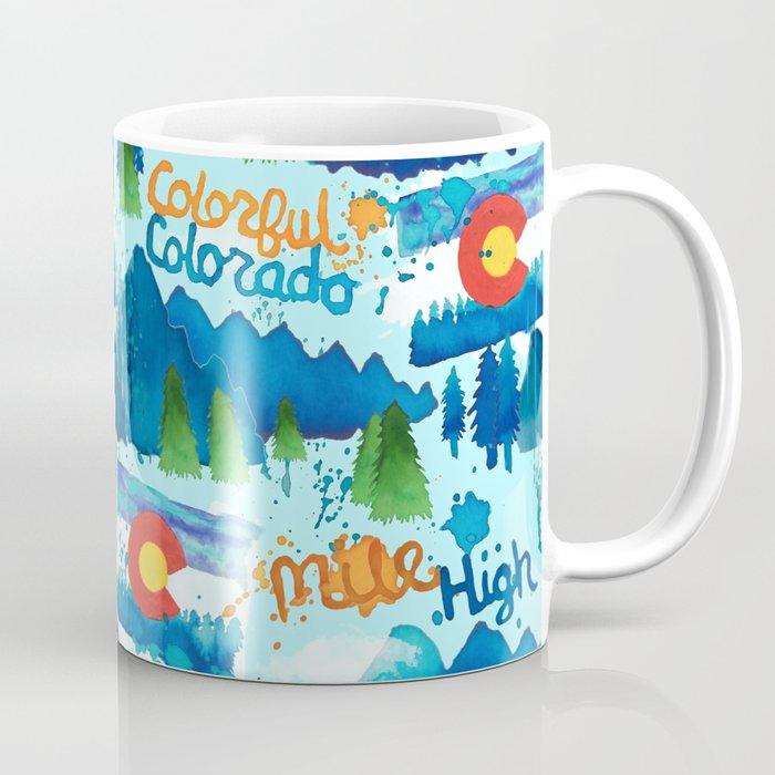 Watercolorado Coffee Mug
