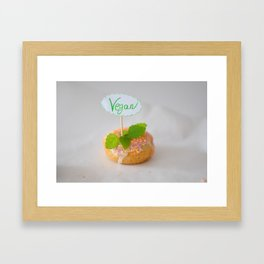 The kind Donut Framed Art Print