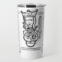 King of Spades by Riendo Travel Mug