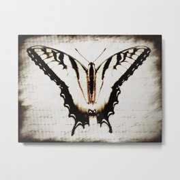 Butterfly Tiger Swallowtail A475 Metal Print