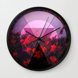 Fields of Colour Wall Clock