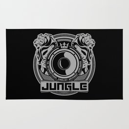 King Of The Jungle - Junglist Movement Worldwide Rug