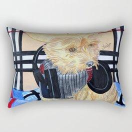 Benji Got Bass Rectangular Pillow