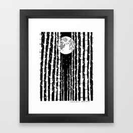 MoonLight Dream Framed Art Print
