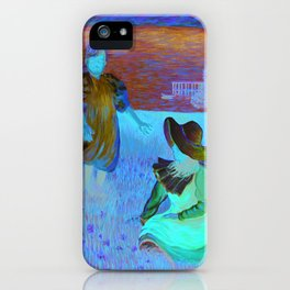 THE SISTERS - Reproduction of American Impressionist Frank Benson painting from 1899 iPhone Case