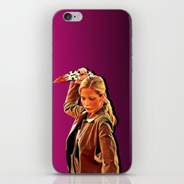 Buffy Slays iPhone Skin