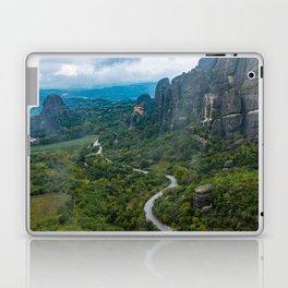 Meteora Monastery Landscape Laptop & iPad Skin