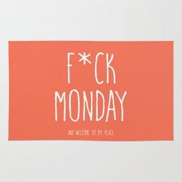 F*CK MONDAY Rug