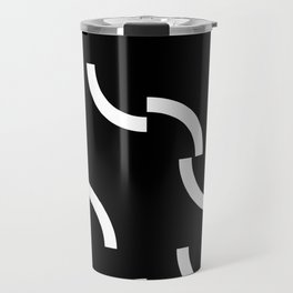 Athos - Broken circumferences - invert. Travel Mug